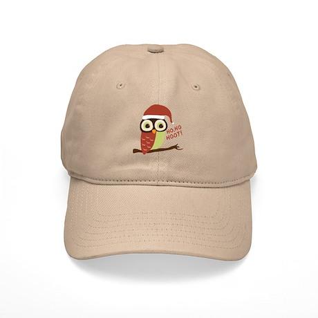 Santa Owl Christmas Cap