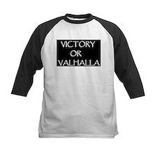 VICTORY OR VALHALLA BLACK Tee