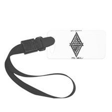 As Above So Below Fludd Luggage Tag