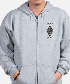 As Above So Below Fludd Zip Hoodie