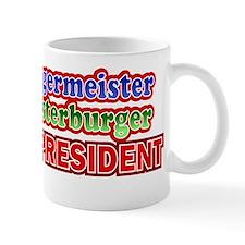 Meister Burger for President Design Mug
