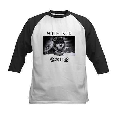 wolf kid 2012 Kids Baseball Jersey