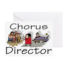 """""""Chorus Director Kids"""" Greeting Cards (Package of"""