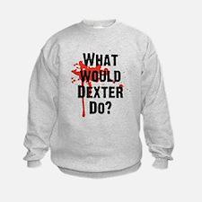 What would Dexter Do Blood Splatter Sweatshirt