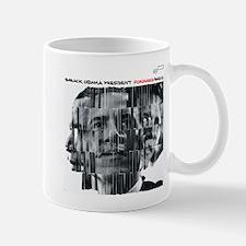 Barack Obama FORWARD RADIO Jazz Album Cover Mug
