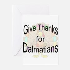 Thanks for Dalmatian Greeting Cards (Pk of 10)