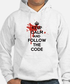 Keep Calm and Follow Harrys Code Hoodie