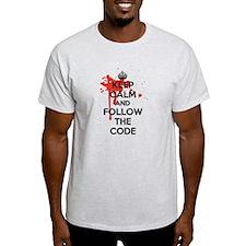 Keep Calm and Follow Harrys Code T-Shirt