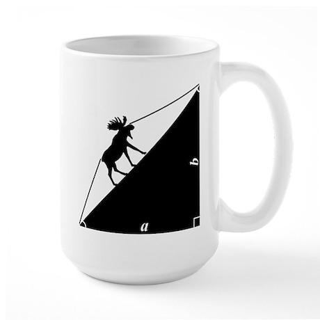 Math Joke Hypotemoose Large Mug