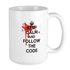 Keep Calm and Follow Harrys Code Ceramic Mugs