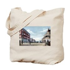Downtown Phoenix in 1900 Tote Bag