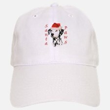 Dalmatian(blk) Paws Baseball Baseball Cap