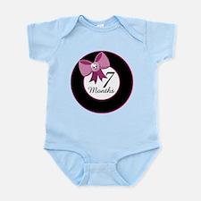 7 Months Rocker Girl Milestone Infant Bodysuit