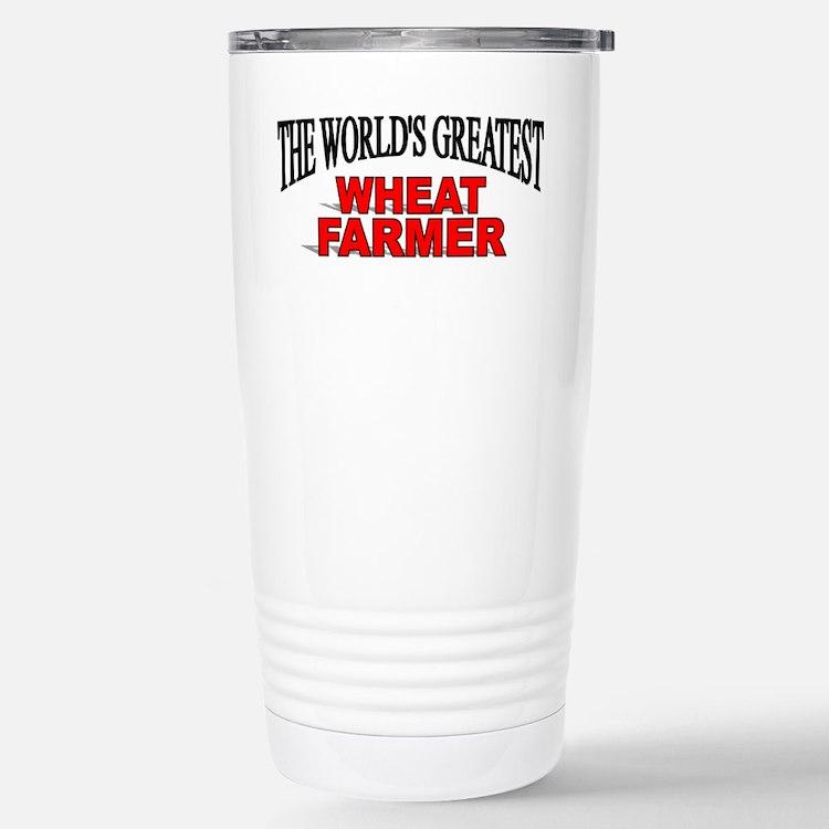 Cute I love cotton farmers Travel Mug