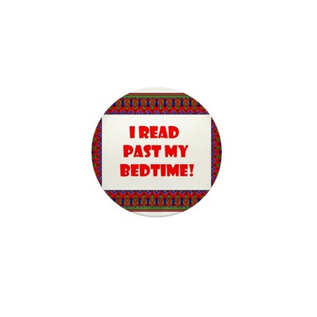 I Read Past My Bedtime Mini Button (10 pack)