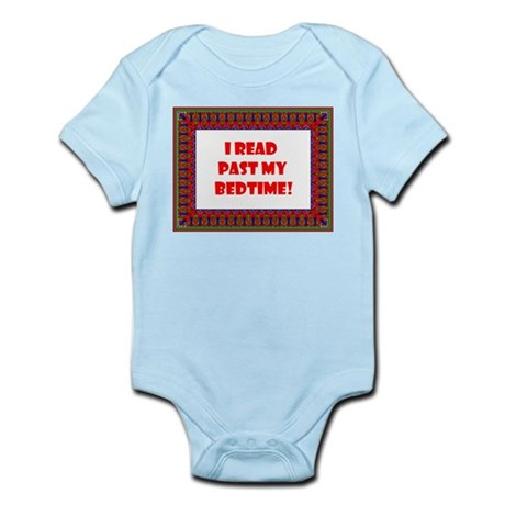 I Read Past My Bedtime Infant Bodysuit