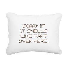 Sorry Rectangular Canvas Pillow