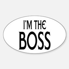 Im the Boss: Decal
