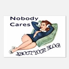 Nobody Cares Postcards (Package of 8)