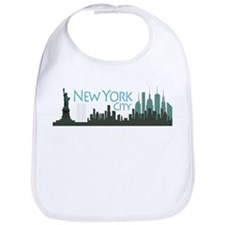 New York City Skyline Bib
