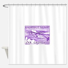 1975 Greenland Narwhal Whale Postage Stamp Shower