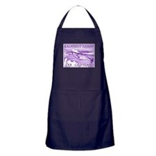 1975 Greenland Narwhal Whale Postage Stamp Apron (