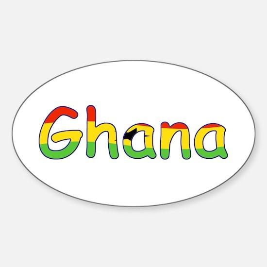 Ghana Goodies Oval Decal