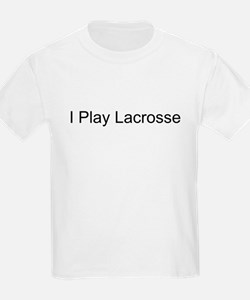 I Play Lacrosse Kids T-Shirt