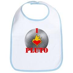 I Love Pluto! Bib
