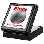 Pluto - RIP 1930-2006 Keepsake Box