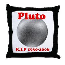 Pluto - RIP 1930-2006 Throw Pillow