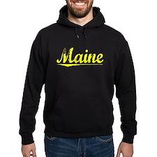 Maine, Yellow Hoodie