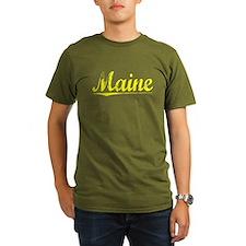 Maine, Yellow T-Shirt