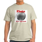 Pluto - RIP 1930-2006 Ash Grey T-Shirt