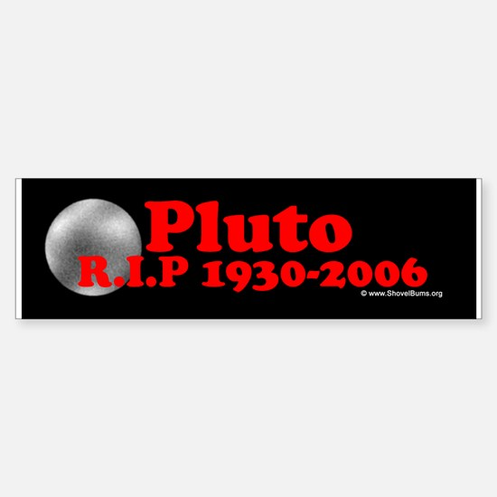 Pluto RIP 1930-2006 Bumper Bumper Bumper Sticker