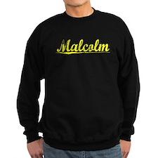 Malcolm, Yellow Sweatshirt
