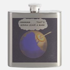 THATS GONNA LEAVE A MARK Flask