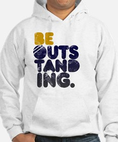 Navy Gold Be Outstanding Hoodie