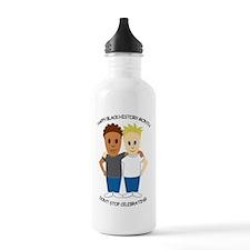 BlackHistMonthNever-1.jpg Water Bottle