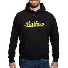 Mathew, Yellow Hoodie