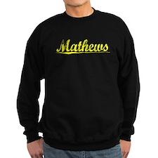 Mathews, Yellow Sweatshirt