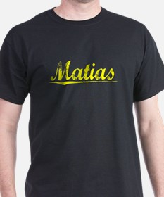 Matias, Yellow T-Shirt