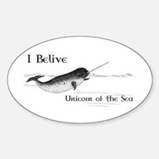 I Believe - Unicorn of the Sea Decal