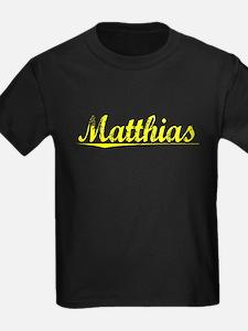 Matthias, Yellow T