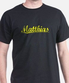 Matthias, Yellow T-Shirt