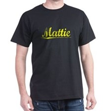 Mattie, Yellow T-Shirt