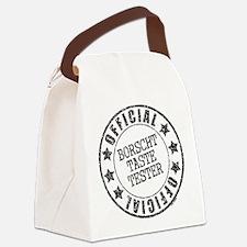 Borscht Tester Canvas Lunch Bag