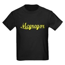 Mcgregor, Yellow T