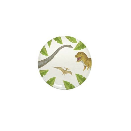 Dinosaur Mini Button (10 pack)