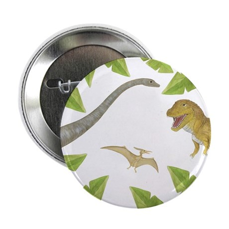 "Dinosaur 2.25"" Button (100 pack)"